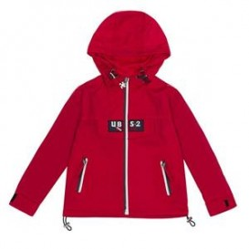 CHAQUETA IMPERMEABLE ROJA UBS2