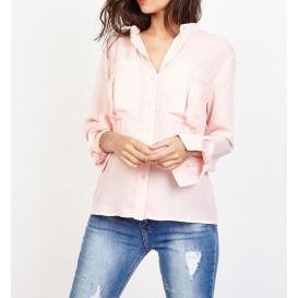 blusa cuello en V