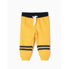 PANTALON CHANDAL AMARILLO BEBE