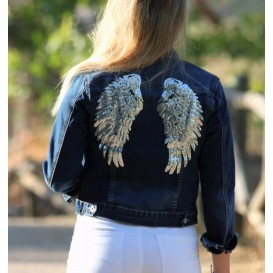 CHAQUETA DENIM ALAS