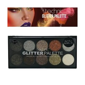 PALETA GLITTER STAR DUST TECHNIC