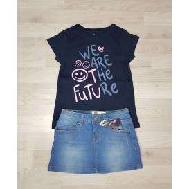 CAMISETA WE ARE THE FUTURE NIÑA