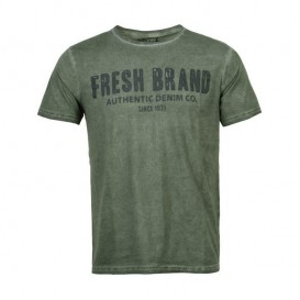 Camiseta Fresh Brand Barber Verde
