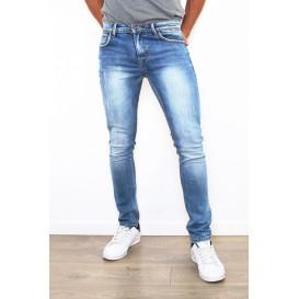 Jeans claros desgatado