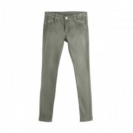 jeans verde niña